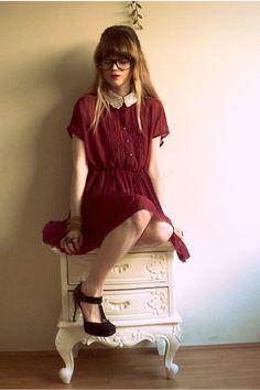 Vintage girl-person