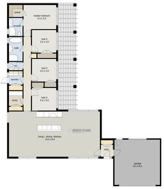 Zen Lifestyle 3 4 Bedroom Bedroom House Plans New Zealand Bungalow Floor Plans, Cottage Floor Plans, Home Design Floor Plans, House Floor Plans, L Shaped House Plans, New House Plans, Small House Plans, Floor Plan 4 Bedroom, House Plans 3 Bedroom
