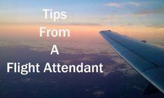 Tips From a Flight Attendant Dayvee Sutton