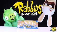 Rabbids Invasion Pack 1! Opened by BAD PIGGIE!!