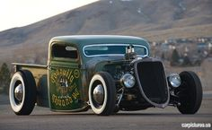 ...Brought to you by agents at #HouseofInsurance in #EugeneOregon for #LowCostInsurance.1935 Ford V8 Rat Rod Pickup | Car Pictures