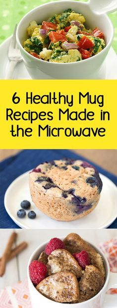 Mug recipes you need! You can make these in minutes… Plus, they're all perfe. Mug recipes you need! You can make these in minutes… Plus, they're all perfectly portioned and less than 250 calories! Healthy Mug Recipes, Microwave Mug Recipes, Skinny Recipes, Ww Recipes, Healthy Cooking, Gourmet Recipes, Healthy Snacks, Healthy Eating, Cooking Recipes