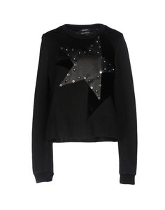 Anthony Vaccarello Women Sweatshirt on YOOX. The best online selection of Sweatshirts Anthony Vaccarello. Anthony Vaccarello, Velvet Tops, Long Sleeve Tops, What To Wear, Sweatshirts, Hoodies, Black Velvet, Sweaters, Clothes