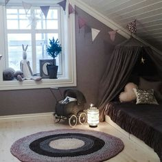 Norwegian Chic at Tina's home Scandinavian Kids Rooms, Woodland Nursery Decor, Kids Room Design, Kids Decor, Home Decor, Teen Bedroom, Small Spaces, Decoration, Design Inspiration