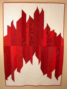 Today& spotlight is on Judy Messenger of FabriArts and the quilt she made will be donated to Quilts of Valor, Canada www. Canadian Quilts, Quilts Canada, Two Color Quilts, Red And White Quilts, Canada 150, Quilt Of Valor, Donate To Charity, Rug Hooking, Quilting Designs