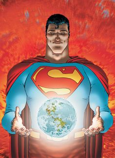 One of the best representations of Superman bar-none. Quitely is an fantastic, though acquired, taste. Never hesitate to read a Morisson story. A great, human tale. > All-Star Superman by Grant Morrison and Frank Quitely. Superman Comic, All Star Superman, Superman And Lois Lane, Superman News, Batman, Superman Games, Superman Story, Superman Family, Grant Morrison