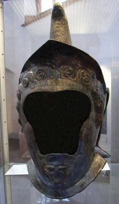 Heddernheim type cavalry helmet. Frankfurter Historischen Museums