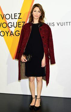 Sofia Coppola en Louis Vuitton au vernissage de l'exposition Volez, Voguez, Voyagez de Louis Vuitton à Tokyo