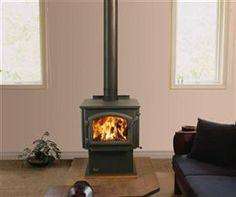Santa Fe Pellet Stove Steel By QuadraFire Pellet Stoves - Pellet stove or wood stove