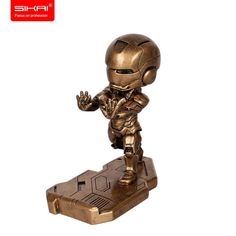 IronMan Mobile Phone Stand Cellphone Holder for iPhone 7 7Plus, Samsung, Nexus 6P, LG Tablets