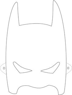 Batman mask printable coloring page for kids: Coloring pages of various face masks Batman Coloring Pages, Printable Coloring Pages, Colouring Pages, Coloring Pages For Kids, Kids Coloring, Molde Mascara Batman, Printable Masks, Printables, Wonder Woman Party