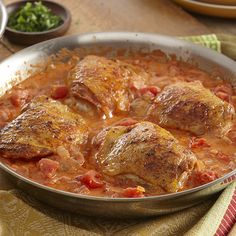 Chicken smothered in a creamy tomato sauce is one of Hungarys classic dishes. Hot Hungarian Paprika adds sweet pepper flavor with a bit of heat.
