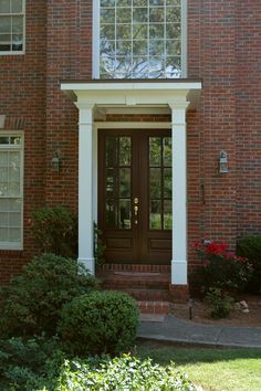 1000 Images About Flat Roof Porticos On Pinterest