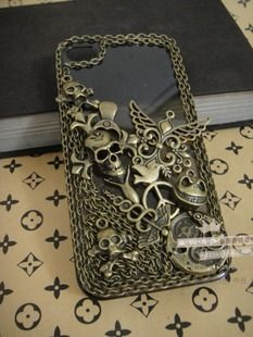 Skulls wing etc alloys diy bling phone deco kit Wings Etc, Skull And Bones, Phone Covers, Skulls, Craft Supplies, Projects To Try, Ipad, Lovers, Bling