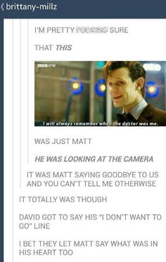 Doctor Who 11 Matt Smith David Tennant, Virginia Woolf, Matt Smith Doctor Who, Supernatural, 11th Doctor, Don't Blink, Geek Out, Dr Who, The Life