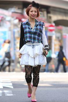 La moda en Harajuku.