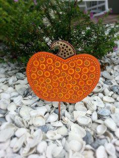 Halloween Decoration Pumpkin Decoration by FlowerPowerShowers  https://www.etsy.com/listing/204952070/halloween-decoration-pumpkin-decoration?ref=shop_home_active_6