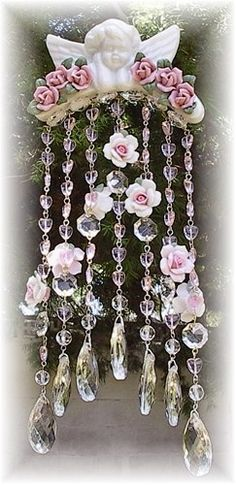 Pretty Sun Catcher with Roses