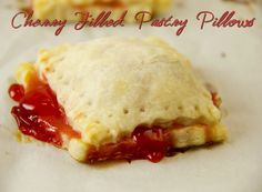 Cherry-filled Pastry Pillows