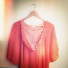 #beachwear #orange #coverup #kreoldesign