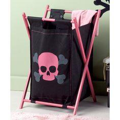 Google Image Result for http://www.use.com/images/s_2/Pink_and_Black_Skull_Laundry_Hamper_9af1bd3b9bf58e2389ce_1.jpg
