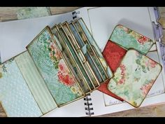 Stack The Pages Printable Mini Album Templates - YouTube