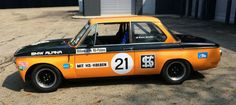 1970 BMW 2002ti ALPINA race car