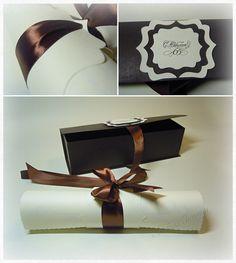 Поздравление с юбилеем на свитке. Свиток в коробке.: На крыльях вдохновения. Gift Wrapping, Gifts, Gift Wrapping Paper, Presents, Wrapping Gifts, Favors, Gift Packaging, Gift