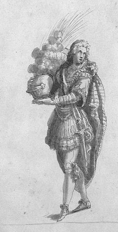 A Page's Costume  by Inigo Jones (early 17th century)