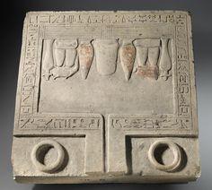 Offering Table of the Overseers of Scribes Senbebu and Dedusobek
