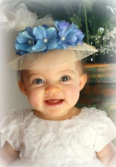 Baby Headband  Baby Hat  Infant Easter Hat with by LittlesLuxuries, $15.00