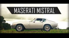 MASERATI MISTRAL COUPÉ 1967 - Test drive in top gear - I6 Engine sound  ...