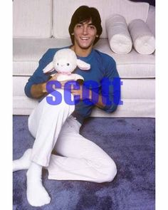 SCOTT BAIO #261,AT HOME CANDID PHOTO,closeup,HAPPY DAYS,charles in charge