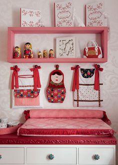 Mamuska é o tema deste quarto de criança