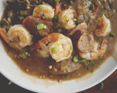 Shrimp  Andouille Sausage Gumbo - The Juice | Club W - For Pairing with maybe the Ombre Pinot Noir