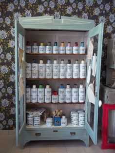 Our cupboard is full of the jewel like colours of the Chalk Paint™ range, ready for you to gaze at...and try out of course!