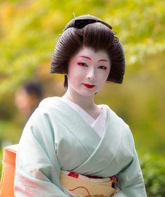 Geiko Toshimana of Miyagawacho