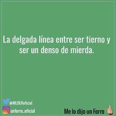 "35.6 mil Me gusta, 151 comentarios - Me Lo Dijo Un Forro (@unforro_oficial) en Instagram: ""#melodijounforro"""