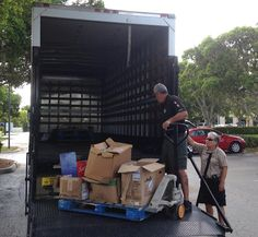 THANK YOU | Wow! Thank you to the Collier County Sheriff's Office for donating and delivering an entire pallet of school supplies to us today for families in need. ‪#‎DoingTheMostGood‬