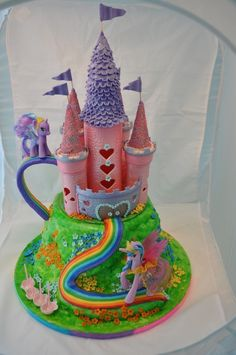 My Little Pony Cake - This has Brianna written ALL over it!!!