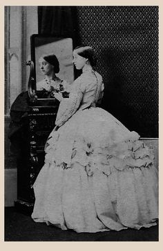 1860 (26 October) Lady Florence Paget by Camille Silvy Paul Frecker mod