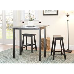 Safavieh 3 Piece Pub Table Set