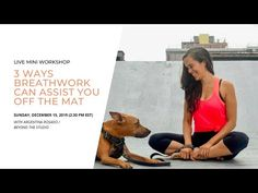 Yoga class / Breathing class video: 3 reasons to practice breathwork for a better life. Yoga Nidra, Yoga Sequences, Free Meditation, Guided Meditation, Best Yoga Videos, Yoga Poses For Beginners, Yoga For Weight Loss, Yoga Tips, Yoga Routine