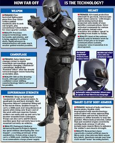 images of new technology | Armour-clad and armed to the teeth, this is the soldier of the(near ...