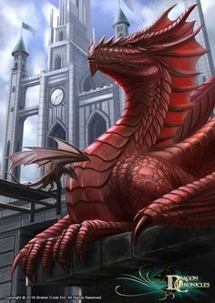 Dragon Chronicles - King of the Dragons by RobertCrescenzio on DeviantArt Magical Creatures, Fantasy Creatures, Fantasy World, Fantasy Art, Cool Dragons, Pics Of Dragons, Dragon's Lair, Dragon Artwork, Dragon Pictures