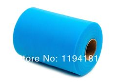 """Special Offer Free Shipping Turquoise TULLE Roll Spool 6""""x100yd(15cm x 91 metres)Tutu Wedding Gift Bow $8.10"""
