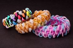 nice How to Make a MINI FISH SCALE Bracelet - VERY HARD design on ONE Rainbow Loom or Monster Tail