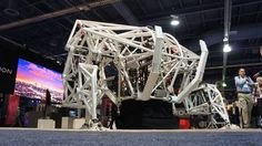 Prosthesis is a huge terrifying exoskeleton built for real-life mech races Read more Technology News Here --> http://digitaltechnologynews.com  LAS VEGAS  Standing silently on the CES floor a giant Prosthesis exoskeleton is coiled ready for action.  But there's no pilot and at 14 feet tall and 7000 pounds Furrion Robotic's racing mech would tear through at least half a dozen CES booths. It will not race. It will not move. Not today.  SEE ALSO: The best tech of CES 2017  This spring however…
