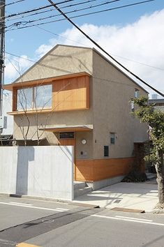 Modern Exterior, Exterior Design, Interior And Exterior, Japanese Architecture, Facade Architecture, Japanese Modern House, Minimal Home, Small House Design, Facade House