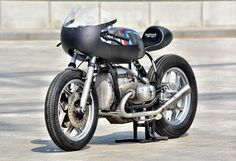 "Cafe Racer Pasión — BMW R100RS Cafe Racer ""schizzo"" by Walzwerkracing..."